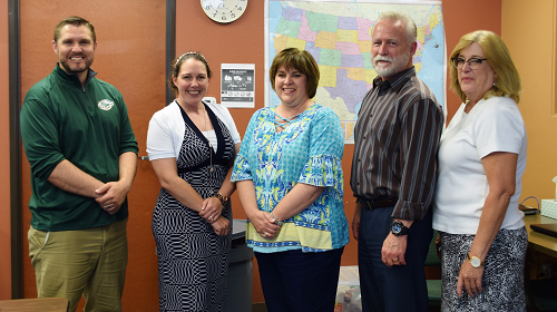 Group photo of the five Orenda Education principals.